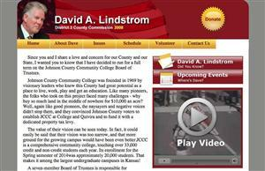 Dave Lindstrom Johnson County Commissioner | 0-20202