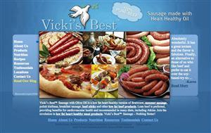 Vicki's Best Sausage Low Fat Heart Healthy Sausage | 0-9372