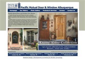 Pacific Mutual Door Albequerque Quality Millwork  | 0-8271