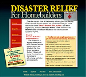 Homebuilder Disaster Relief- New Home Specialists | 0-12770