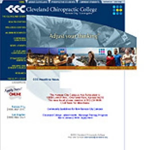Cleveland Chiropractic College KC & LA | 0-12775